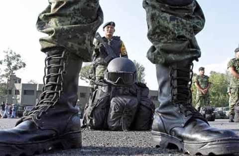 Regresan a Chiapas Cientos de Soldados Comisionados en el Norte del País