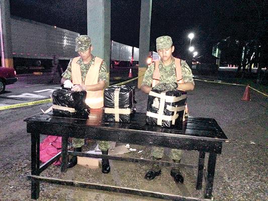 Ejército Decomisa 30 Kilos de Marihuana