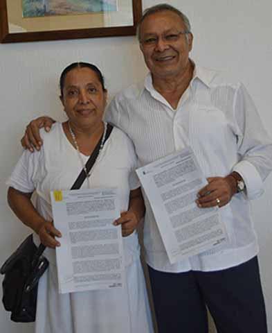 Firman Convenio de Aportación de Recursos