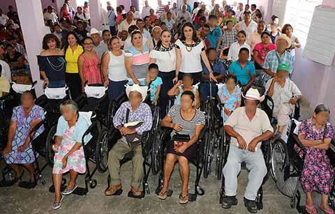 Concluye DIF Chiapas Entrega de Ayudas Técnicas a Personas con Discapacidad
