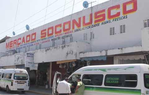 """Locatarios del Mercado """"Soconusco"""" Exigen Destitución de la Administradora"""