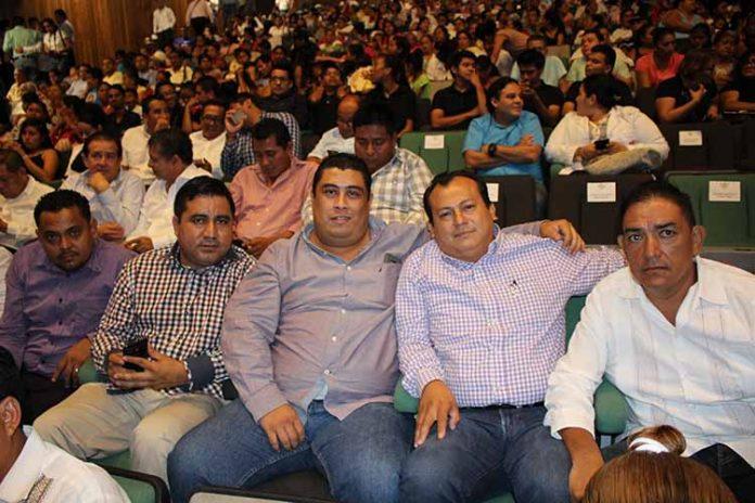 Inocencio Gerardo, Pablo Valle, Vicente Justitiano, Artemio Pacheco, Gilberto Barrientos.