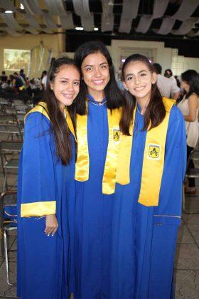 Sofía Chávez, Aisha Mandujano, Frida Cámara.