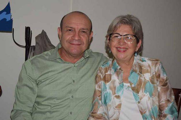 Rubén Aguirre, Lorena Hickman.