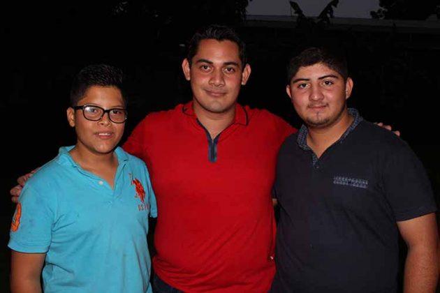 Leonardo Garzón, Omar Castillo, Riquelme Ruiz.