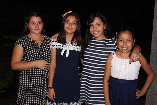 Marisela Ruiz, Alondra Coutiño, Lucy Castillo, María José Granados.