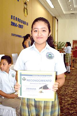 Jannia Luz Díaz Sosa.
