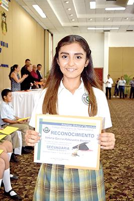 Valeria García Palazuelos Becerril.