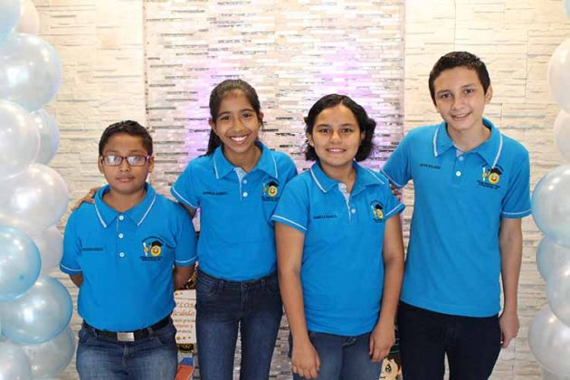 Gerardo Marroquín, Hannia Ramírez, Daniella Nava, Kevin Valladares.