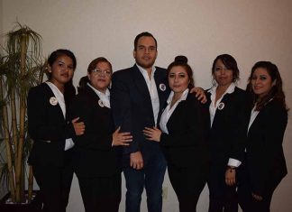 Eli Amores, Mabel López, Luis Magariño, Pao de la Cruz, Gabi García, Natali Gálvez.