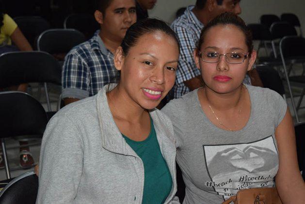 Ángel Bustamante, Susana Interián, Jennifer Velázquez.