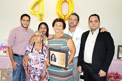 Familia Aranda Escobar.