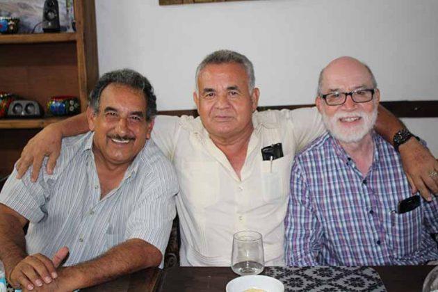 Humberto Silva, Ernesto Álvarez, Aroldo Aguilar.