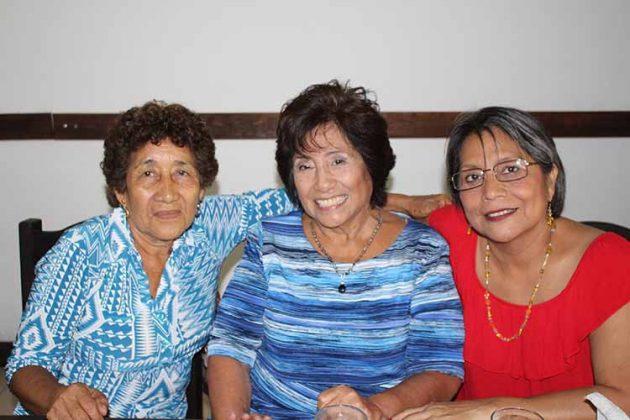 Delsa Juárez, Lupita Vera, Dalia Rojas.