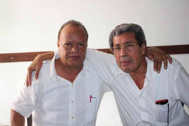 Humberto Becerra, Eber Enríquez.