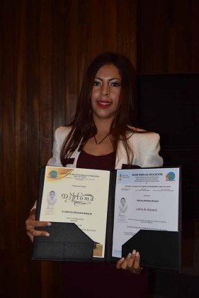 Joselyn Lorenzana.
