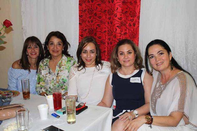 Amalia Toriello, Maru Álvarez, Tan Ocampo, Lupita Kobeh, Nora Soto.