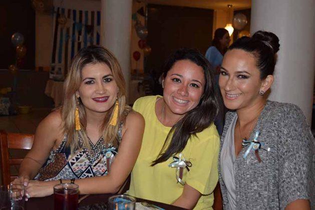 Hayddy Palacios, Natalia del Pino, Leyla Chávez.