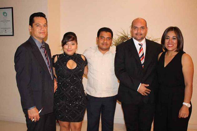Alfonso Vázquez, Beatriz Flores, Emanuel Vázquez, Gerardo Hernández, Gely Venegas.