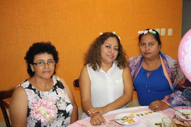 Cony, Helen, Mary Moreno.