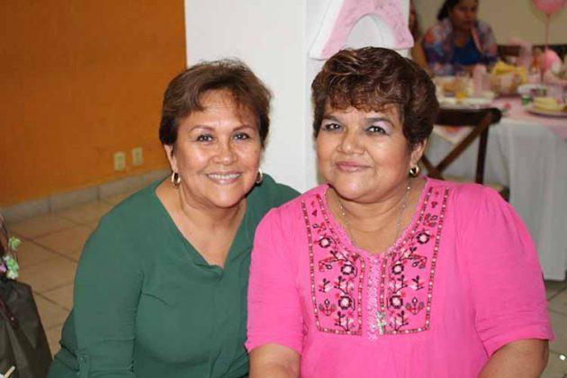 Sandra Figueroa, Egda Flores.