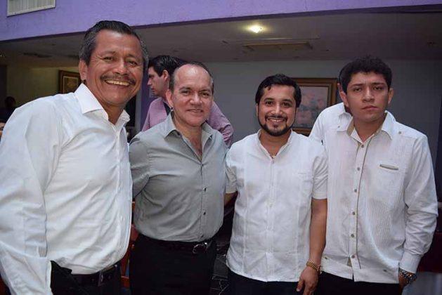 Martiniano Reyes, Clemente Miguel López, Héctor de León, Alejandro Trejo.