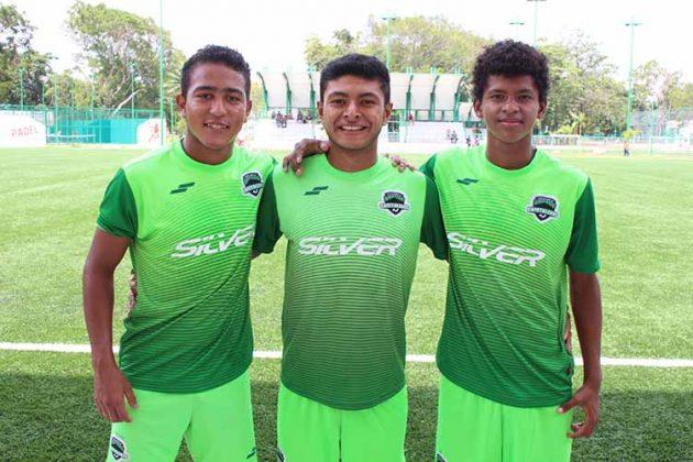 José Bautista, Ronal Villarreal, Elmer Morales.