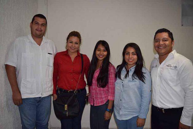 Armando Martínez, Karen Castillejos, Briseeidi Gómez, Yazmin Campuzano, Julio César Domínguez.
