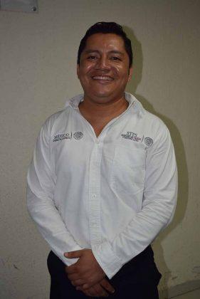 Ing. Julio César Domínguez Hernández, Jefe de la oficina en Tapachula de la STYPS.