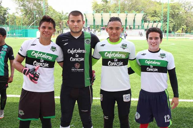 Marco Zavala, Dante Romero, Carlos Salazar, Andrés Tomasini.