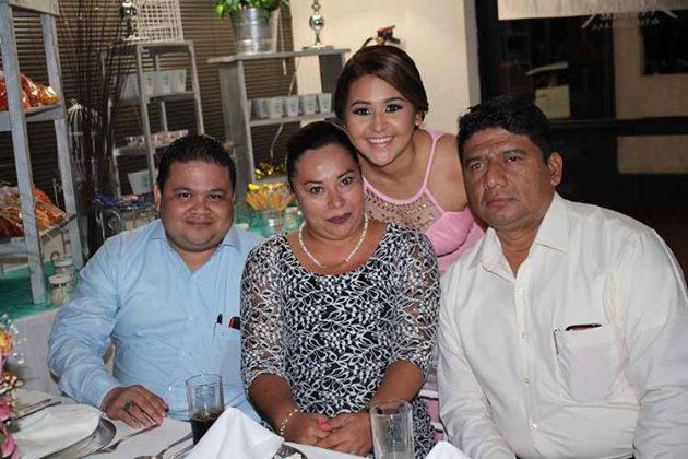 Elfego Quintana, Fabiola Salazar, Ana Montesinos, Julio de la Cruz.