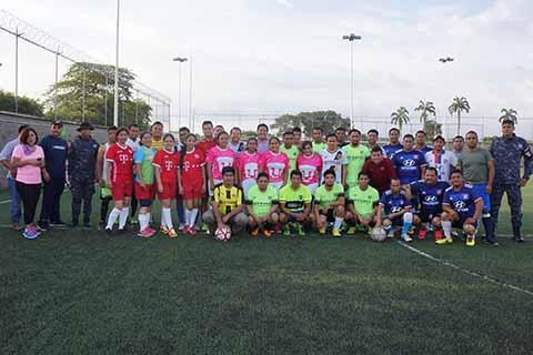 En Torneo de Fútbol Relámpago Celebra EZM día del Abogado
