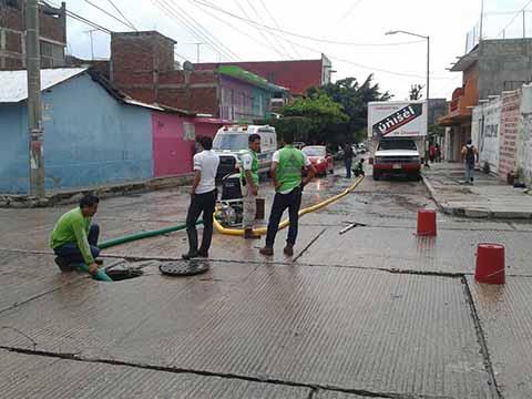 Ayuntamiento de Tuxtla Atiende Afectaciones por Lluvias