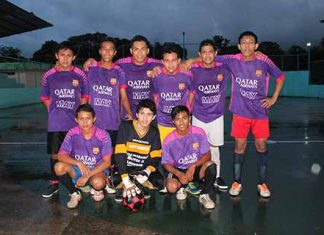Actividad en el Futbol Rápido de Tuxtla Chico