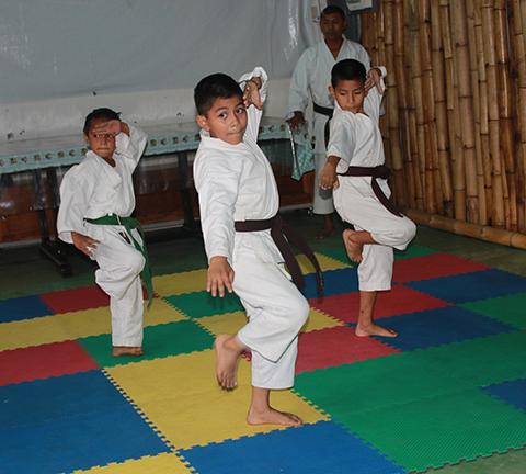 Invitan a Curso de Karate Durante Periodo Vacacional