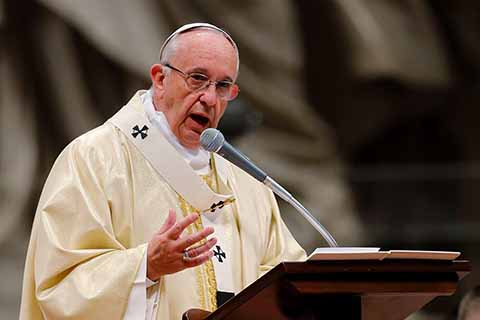 Papa Hace un Llamado Para Acabar con la Trata