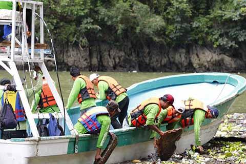 Disminuyen Considerablemente Residuos Sólidos en el Cañón del Sumidero