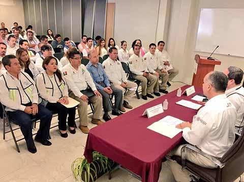 Se Fortalece Unidad Interna de Protección Civil en Instituto de Elecciones y Participación Ciudadana