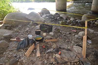 Lo Asesinaron Bajo el Puente del río Coatán