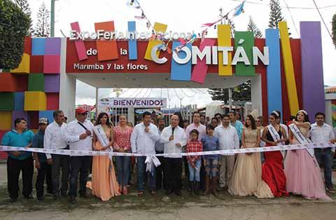 Arranca Expo Feria Internacional de la Marimba y las Flores en Comitán