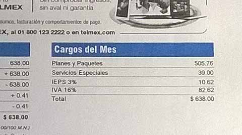 Pésimo Servicio Presta Telmex