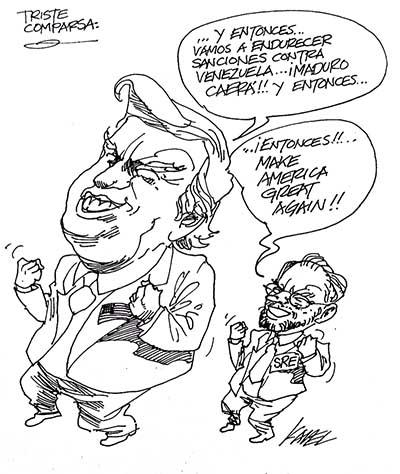 TRISTE COMPARSA...