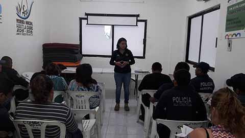 Formación Policial en Huixtla y Villa Comaltitlán