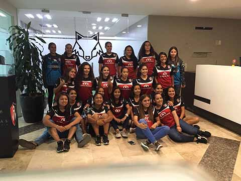Futbolista de Mazatán en las Filas del Atlas