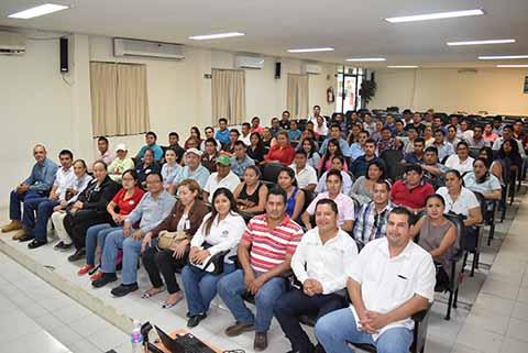 Secretaría Federal del Trabajo y PrevisiónSocial Imparte Curso a Empresarios Locales