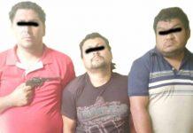 Detienen a 3 presuntos Asaltantes en Flagrancia