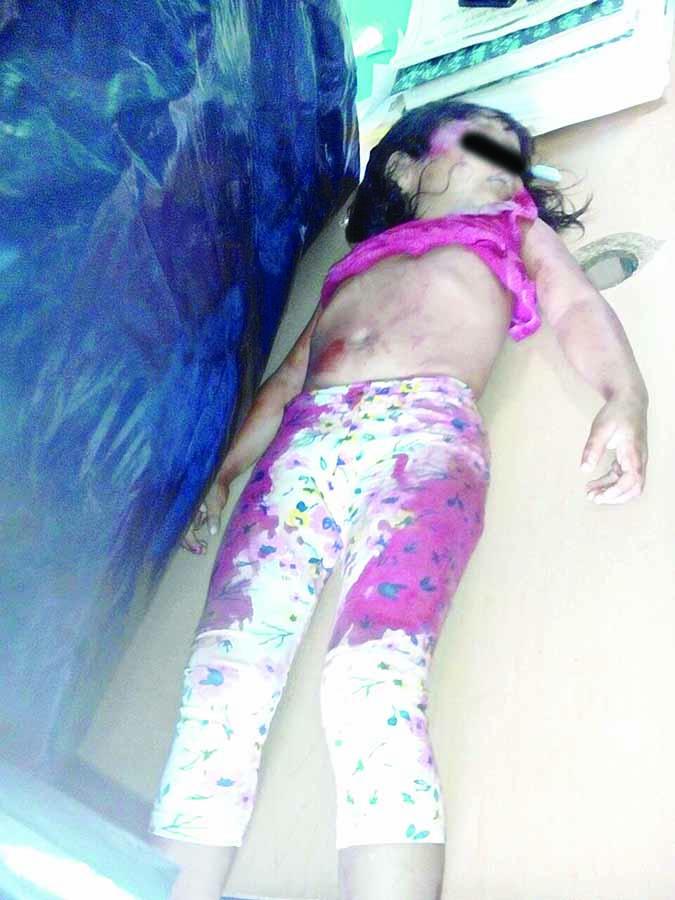 Cafre de Colectiva Atropella y Mata a Niña de 3 Años