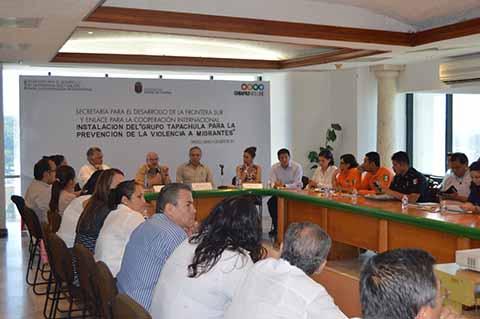 Grupo Piloto Tapachula Para Prevenir Violencia a Migrantes