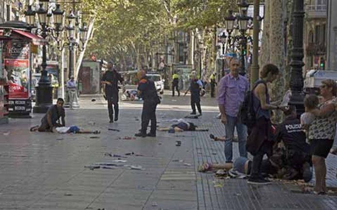 Atentado Terrorista en Barcelona España Registra 17 Muertos y más de 100 Heridos