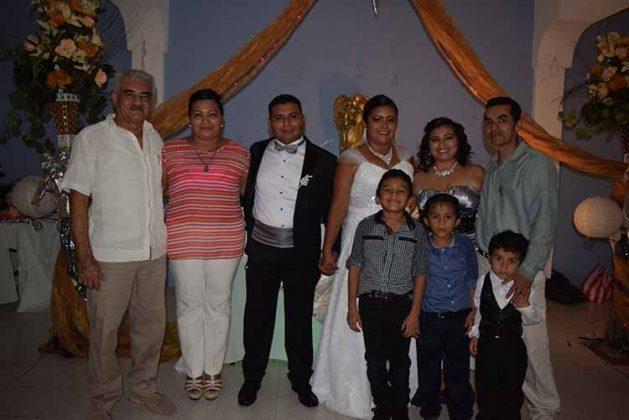 Raúl Martínez, Edith Sánchez, Andrea, Diego, Kevin, Brandón, Juan Diego López, Juan Diego González.